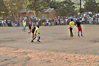 Village football match